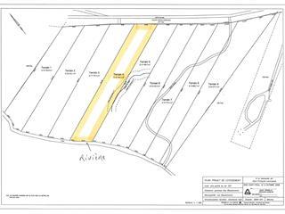 Terrain à vendre à Les Éboulements, Capitale-Nationale, 3004, Rang  Sainte-Catherine, 23798094 - Centris.ca