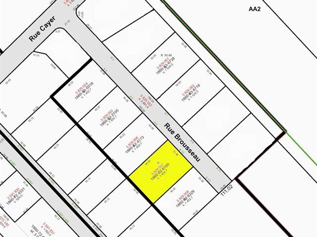 Lot for sale in Notre-Dame-du-Sacré-Coeur-d'Issoudun, Chaudière-Appalaches, 10, Rue  Brousseau, 24191471 - Centris.ca