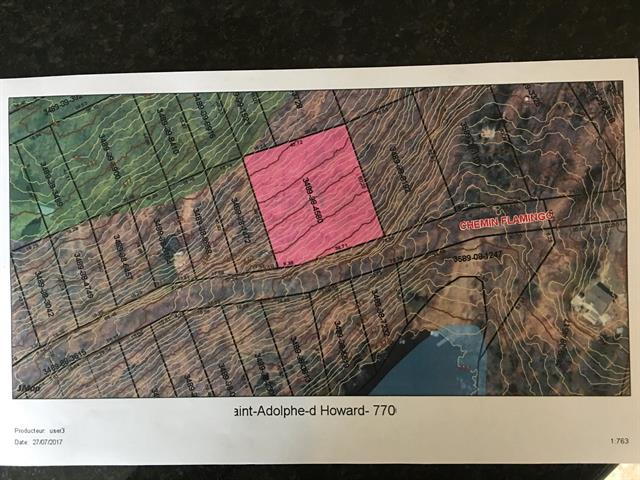 Land for sale in Saint-Adolphe-d'Howard, Laurentides, Chemin  Flamingo, 24725216 - Centris.ca