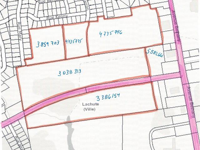 Terre à vendre à Lachute, Laurentides, Avenue de Lorraine, 21648941 - Centris.ca