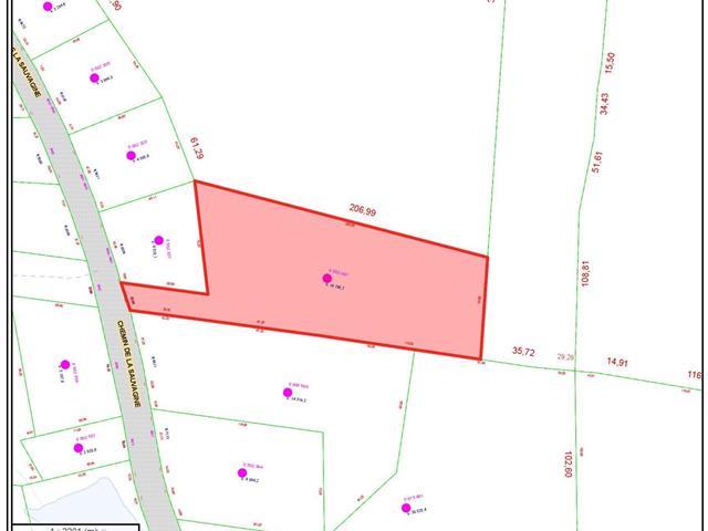 Terrain à vendre à Saint-Faustin/Lac-Carré, Laurentides, Chemin de la Sauvagine, 17313529 - Centris.ca