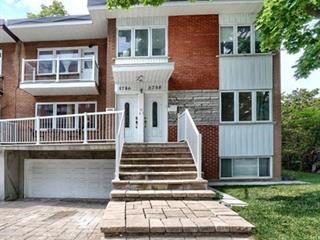 Triplex à vendre à Côte-Saint-Luc, Montréal (Île), 5786 - 5788, Avenue  Trinity, 21514957 - Centris.ca