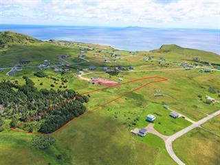 Terrain à vendre à Les Îles-de-la-Madeleine, Gaspésie/Îles-de-la-Madeleine, Chemin  Turbide, 11087194 - Centris.ca