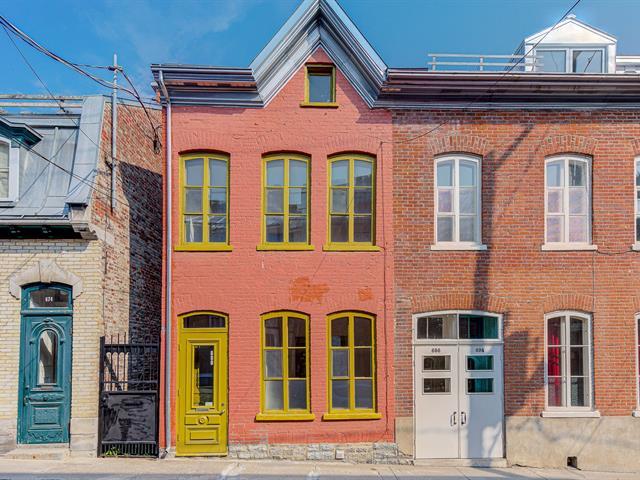 House for rent in Québec (La Cité-Limoilou), Capitale-Nationale, 680, Rue  Saint-Olivier, 16948311 - Centris.ca