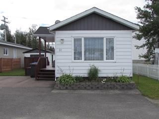 Mobile home for sale in Chibougamau, Nord-du-Québec, 57, 7e Rue Est, 14292629 - Centris.ca