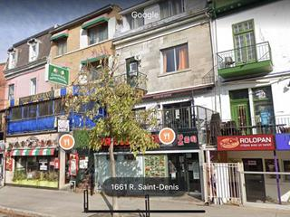 Business for sale in Montréal (Ville-Marie), Montréal (Island), 1669, Rue  Saint-Denis, 20274780 - Centris.ca