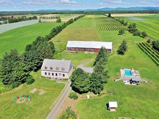 Farm for sale in Saint-Laurent-de-l'Île-d'Orléans, Capitale-Nationale, 1578Z, Côte  Leclerc, 25630572 - Centris.ca