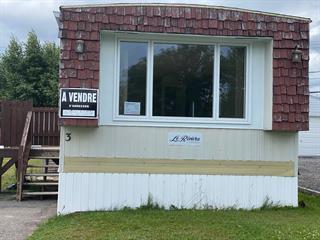 Mobile home for sale in Port-Cartier, Côte-Nord, 3, Rue  Delaunière, 20256270 - Centris.ca
