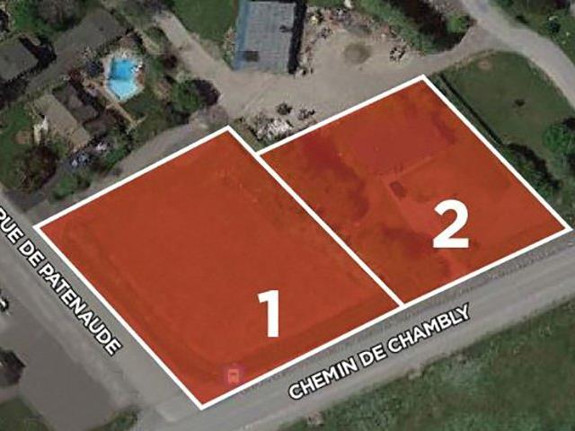 Terrain à vendre à Longueuil (Saint-Hubert), Montérégie, Chemin de Chambly, 12585763 - Centris.ca