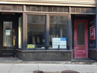Commercial unit for rent in Québec (La Cité-Limoilou), Capitale-Nationale, 1066, Rue  Saint-Jean, 10503417 - Centris.ca