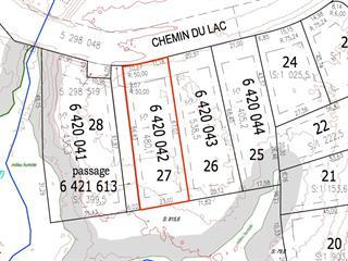 Lot for sale in Saint-Sauveur, Laurentides, Chemin du Lac, 9537867 - Centris.ca