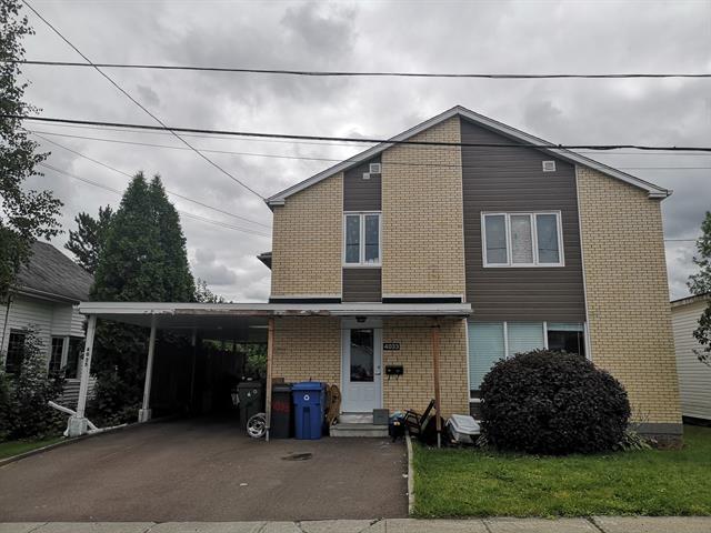 Duplex for sale in Saguenay (Jonquière), Saguenay/Lac-Saint-Jean, 4033 - 4035, Rue  Bourgeois, 22352403 - Centris.ca