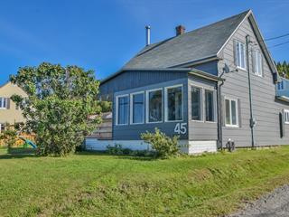 House for sale in Sainte-Anne-des-Monts, Gaspésie/Îles-de-la-Madeleine, 45, boulevard  Perron Est, 27878886 - Centris.ca