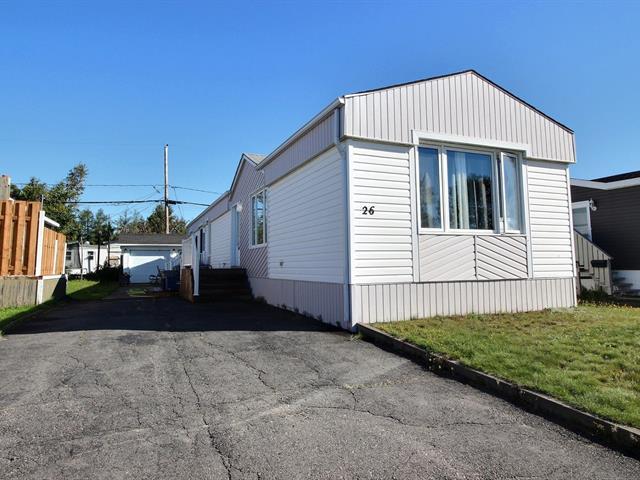 Mobile home for sale in Sept-Îles, Côte-Nord, 26, Rue des Becs-Scie, 17938558 - Centris.ca