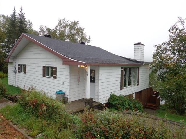 Maison à vendre à Rivière-aux-Outardes, Côte-Nord, 59, Lac  Donlon, 26227479 - Centris.ca