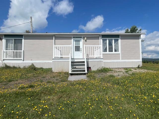 Maison mobile à vendre à Sacré-Coeur-de-Jésus, Chaudière-Appalaches, 5147, Vieille Route, 19367502 - Centris.ca