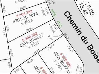 Terrain à vendre à Lac-Beauport, Capitale-Nationale, 103, Chemin du Boisé, 24141588 - Centris.ca