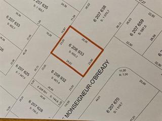 Terrain à vendre à Wotton, Estrie, Rue  Monseigneur-O'Bready, 12353622 - Centris.ca