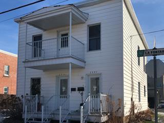 Duplex à vendre à Saint-Hyacinthe, Montérégie, 2391 - 2397, Rue  La Fontaine, 19556655 - Centris.ca
