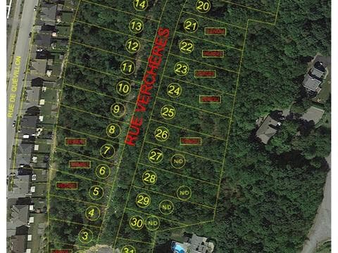 Lot for sale in Granby, Montérégie, Rue de Verchères, 27114312 - Centris.ca