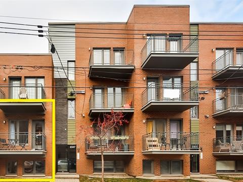 Condo for sale in Le Sud-Ouest (Montréal), Montréal (Island), 2347, Rue  Augustin-Cantin, apt. 101, 15785739 - Centris.ca