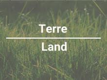 Terre à vendre à Saint-Blaise-sur-Richelieu, Montérégie, Chemin du Grand-Bernier, 24022482 - Centris.ca