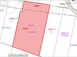 Terre à vendre à Ivry-sur-le-Lac, Laurentides, Route  117, 23308046 - Centris.ca