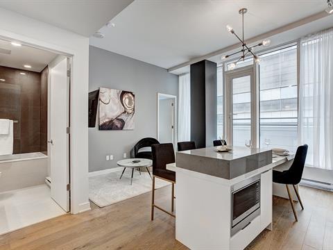 Condo / Apartment for rent in Le Sud-Ouest (Montréal), Montréal (Island), 1188, Rue  Saint-Antoine Ouest, apt. 711, 17723509 - Centris.ca