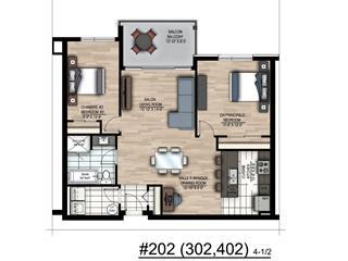 Condo / Appartement à louer à Saint-Constant, Montérégie, 415, Rue du Grenadier, app. 202, 26044343 - Centris.ca