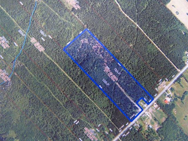 Terre à vendre à Saint-Fabien-de-Panet, Chaudière-Appalaches, Rang  Sainte-Marie, 11408610 - Centris.ca
