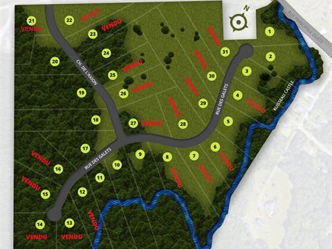Terrain à vendre à Magog, Estrie, 18, Chemin de l'Axion, 21360785 - Centris.ca