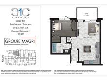 Condo / Apartment for rent in Montréal (Saint-Léonard), Montréal (Island), 5850, Rue  Jarry Est, apt. 207, 12494861 - Centris.ca