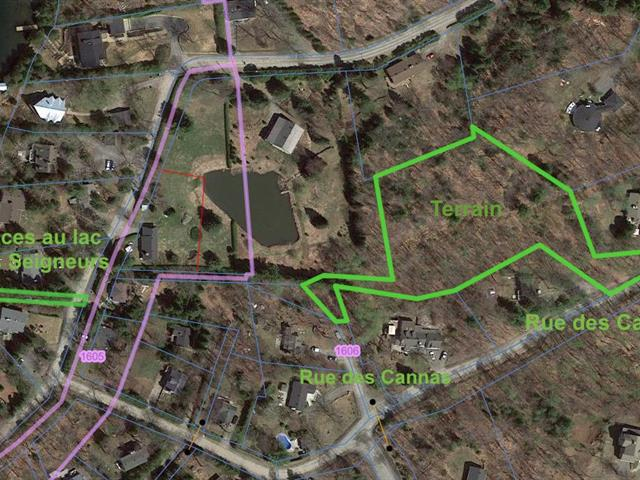 Lot for sale in Sainte-Anne-des-Lacs, Laurentides, Chemin des Cannas, 16860565 - Centris.ca