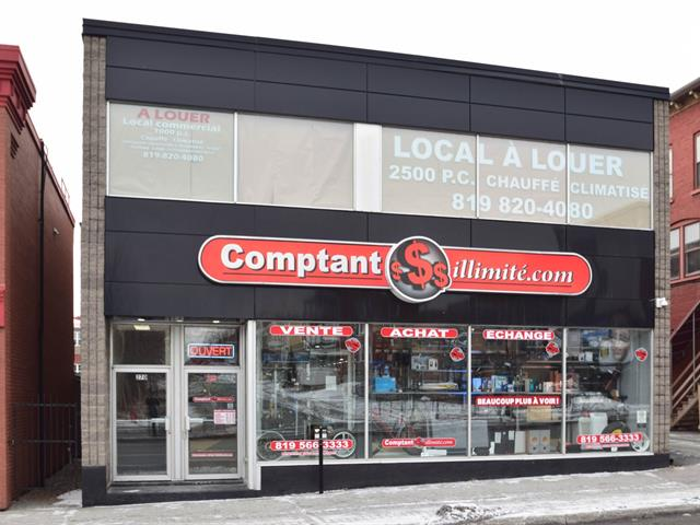 Local commercial à louer à Sherbrooke (Les Nations), Estrie, 270, Rue  King Ouest, 19605748 - Centris.ca