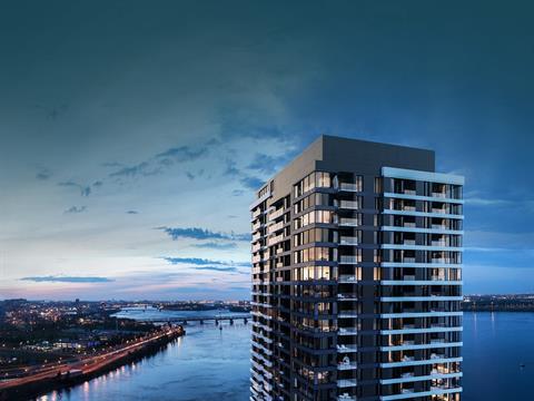 Condo / Apartment for rent in Verdun/Île-des-Soeurs (Montréal), Montréal (Island), 151, Rue de la Rotonde, apt. 406, 13912645 - Centris.ca