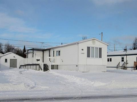Mobile home for sale in Baie-Comeau, Côte-Nord, 1547, Rue  La Brosse, 17705760 - Centris.ca