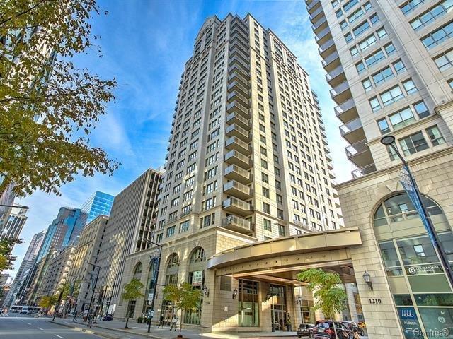 Condo for sale in Montréal (Ville-Marie), Montréal (Island), 1210, boulevard  De Maisonneuve Ouest, apt. 9C, 14456368 - Centris.ca