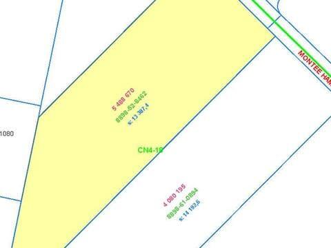 Terrain à vendre à Sainte-Julienne, Lanaudière, Montée  Hamilton, 10955818 - Centris.ca