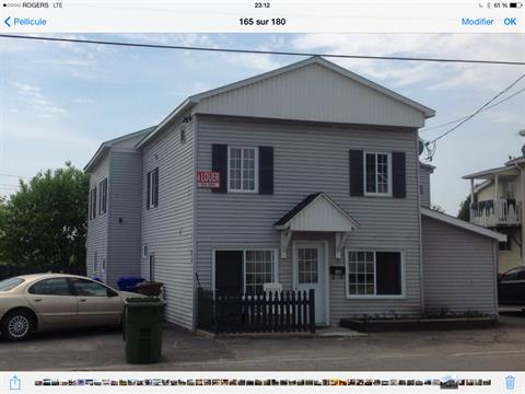Quadruplex for sale in Lachute, Laurentides, 156 - 160, Rue  Principale, 23297141 - Centris.ca