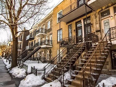 Condo / Apartment for rent in Montréal (Le Plateau-Mont-Royal), Montréal (Island), 4310, Avenue des Érables, 10506708 - Centris.ca