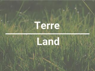 Terre à vendre à Notre-Dame-Auxiliatrice-de-Buckland, Chaudière-Appalaches, Rang  Ville-Marie, 24454901 - Centris.ca
