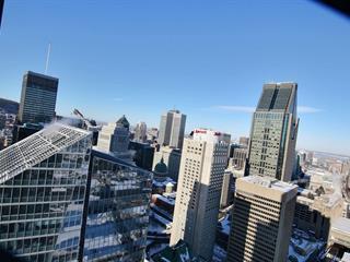 Condo / Apartment for rent in Montréal (Ville-Marie), Montréal (Island), 1188, Rue  Saint-Antoine Ouest, apt. 4802, 9238951 - Centris.ca