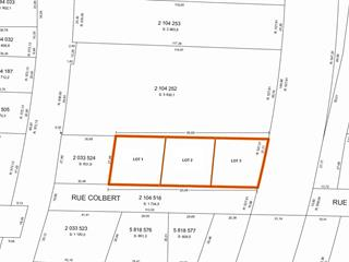 Terrain à vendre à Sherbrooke (Brompton/Rock Forest/Saint-Élie/Deauville), Estrie, Rue  Colbert, 27389066 - Centris.ca