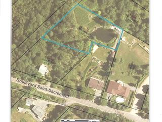 Lot for sale in Saint-Gabriel-de-Valcartier, Capitale-Nationale, boulevard  Saint-Sacrement, 20785003 - Centris.ca