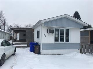 Maison mobile à vendre à Gatineau (Gatineau), Outaouais, 43, 3e Avenue Ouest, 11300789 - Centris.ca
