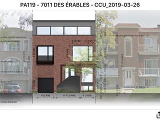 House for sale in Montréal (Villeray/Saint-Michel/Parc-Extension), Montréal (Island), 7011, Avenue des Érables, 28346500 - Centris.ca