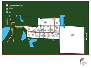 Terrain à vendre à Austin, Estrie, Croissant de l'Écureuil, 10401116 - Centris.ca