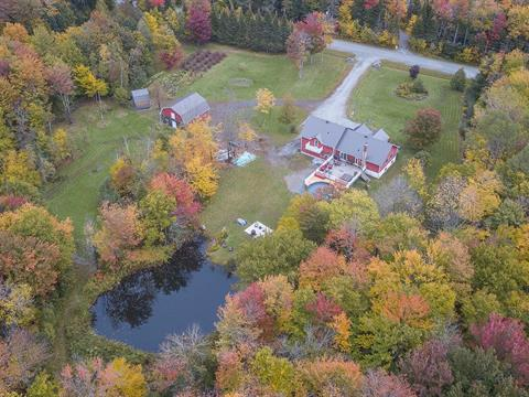 Hobby farm for sale in Stukely-Sud, Estrie, 121Z, Chemin  Gérard-Dame, 27364096 - Centris.ca
