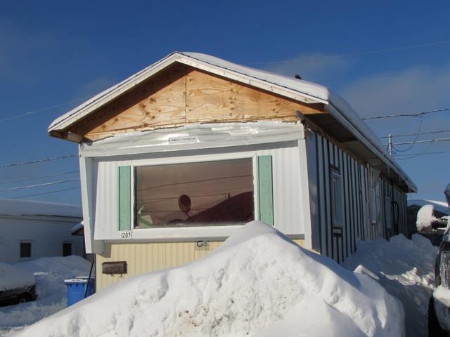 Mobile home for sale in Chibougamau, Nord-du-Québec, 1207, 12e Rue, 9261379 - Centris.ca