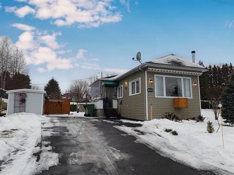 Mobile home for sale in Lac-Mégantic, Estrie, 4531, Rue  Papineau, 22358231 - Centris.ca